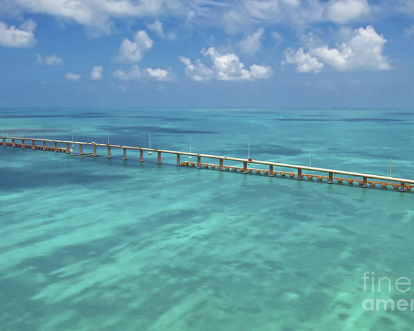 Florida Poster featuring the photograph Overseas Highway by Patrick M Lynch