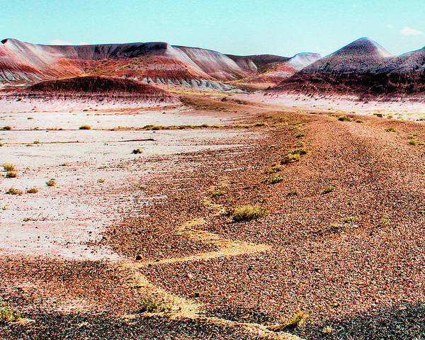 Photography Poster featuring the photograph Painted Desert 0319 by Sharon Broucek