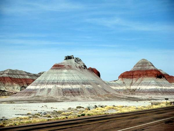 Arizona Poster featuring the photograph Painted Desert 2 by Jeanette Oberholtzer