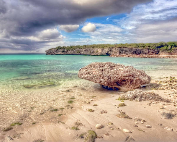 Curacao Poster featuring the photograph Paradise Island 2 by Nadia Sanowar