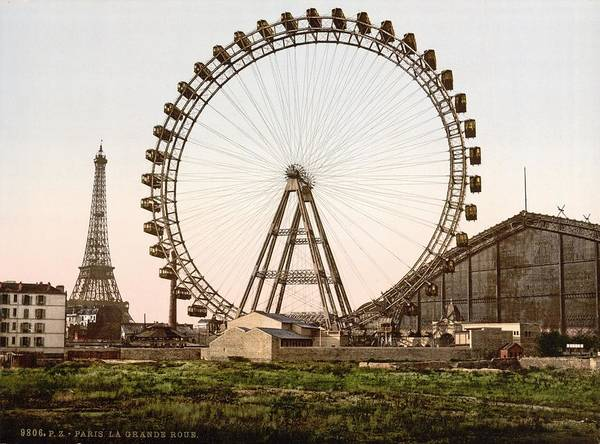 Paris Poster featuring the photograph Paris by Mouad Martil