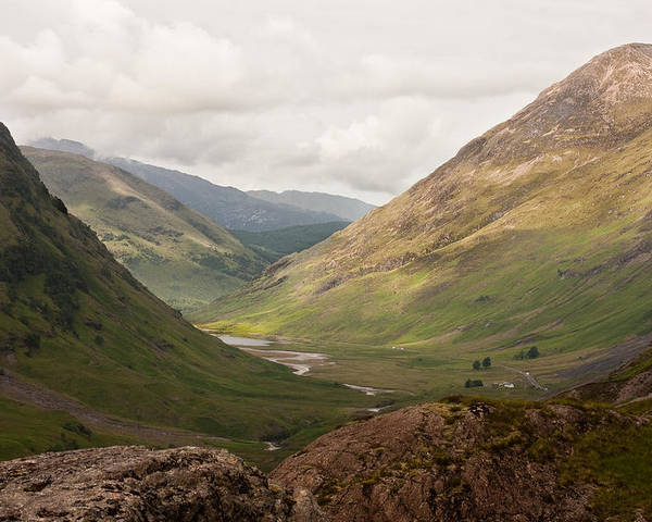Scotland Poster featuring the photograph Pass Of Glencoe II by Colette Panaioti