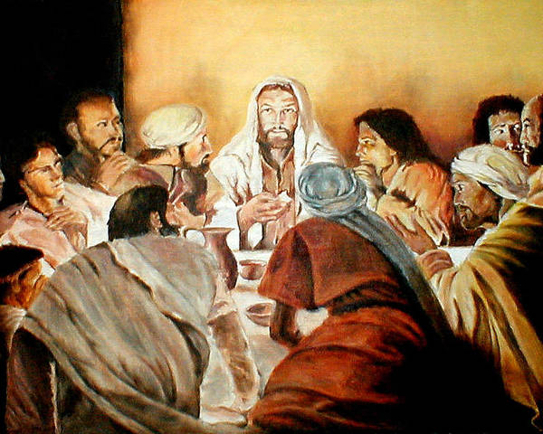 Christ Poster featuring the painting Passover by G Cuffia