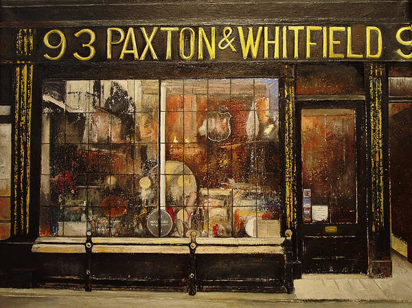 Paxton Poster featuring the painting Paxton Whitfield .london by Tomas Castano