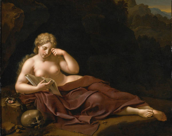 Bartholomeus Douven Poster featuring the painting Penitent Magdalene by Bartholomeus Douven