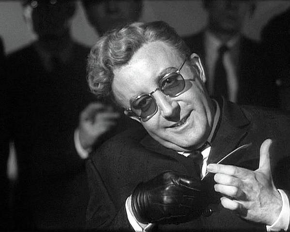 Peter Sellers As Dr. Strangelove Number One Color Added 2016 Poster featuring the photograph Peter Sellers As Dr. Strangelove Number One Color Added 2016 by David Lee Guss