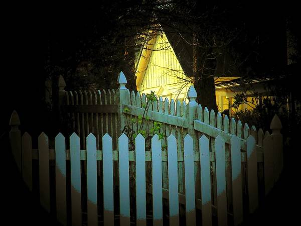 Fence Poster featuring the photograph Picket Fence by Michael L Kimble