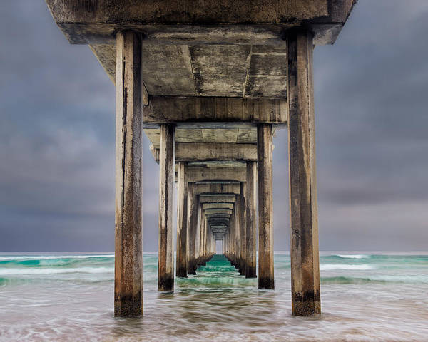 California Poster featuring the photograph Pier by Doug Oglesby