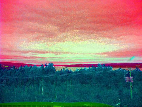 Skys Poster featuring the photograph Pink Clouds by Allison Prior