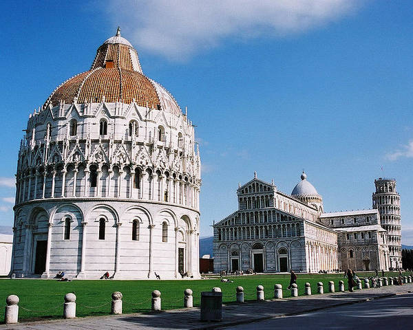 Italy Poster featuring the photograph Pisa by Kathy Schumann