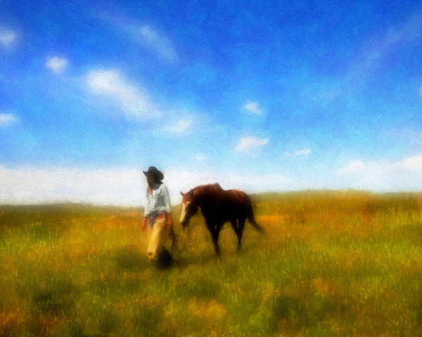 Fine Art Poster featuring the photograph Pleasure Pasture by Nick Sokoloff