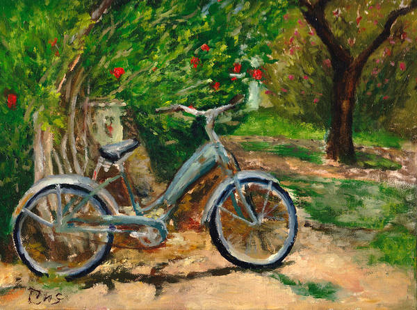 Plein Air Poster featuring the painting Plien air afternoon by Chris Neil Smith