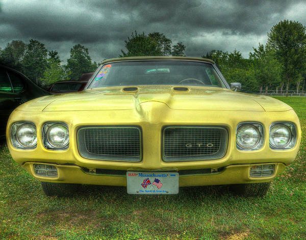 Pontiac Poster featuring the photograph Pontiac Gto 027 by Jeff Stallard