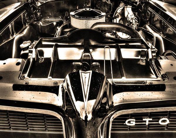 Pontiac Poster featuring the photograph Pontiac Gto 028 by Jeff Stallard