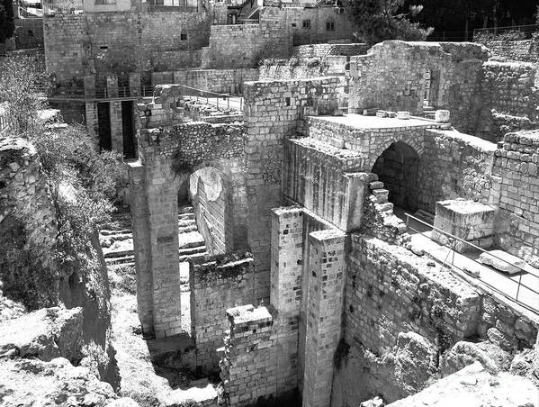 Pools Of Bethesda Poster featuring the photograph Pools Of Bethesda by Mae Wertz