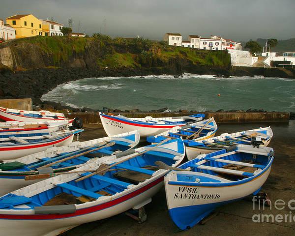 Coastal Poster featuring the photograph Porto Dos Carneiros by Gaspar Avila