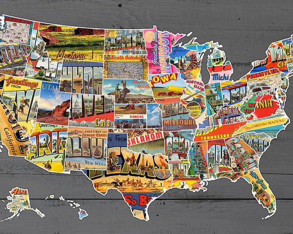 Postcards Of The United States Vintage Usa Map On Gray Wood Background on usa weather, usa travel, road map usa states, usa map showing states only, usa puzzle, usa and canada, usa coloring pages, map of all the states, map of us states, map of usa states, usa rivers, usa flag, usa timezone, usa map without states, names 52 states, usa money, map of mexico states, usa cities, usa maps 48 state,