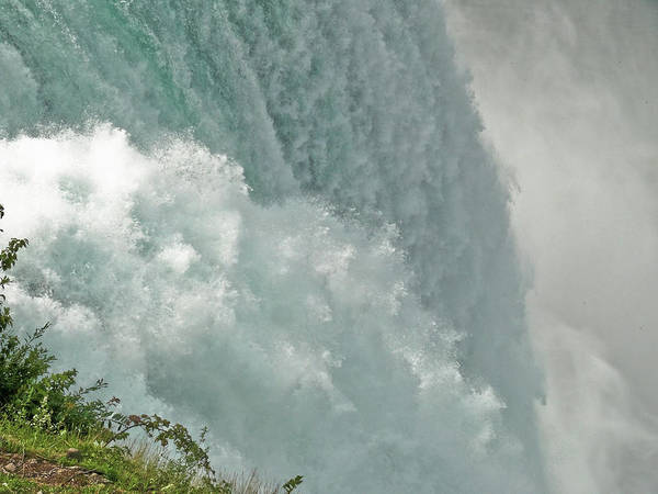 Niagara Falls Poster featuring the photograph Power Of The Falls by Rosemary McGahey