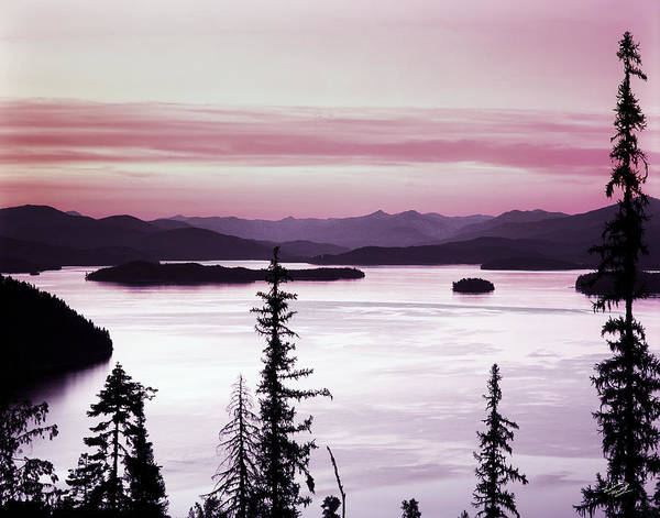 Beautiful Poster featuring the photograph Priest Lake by Leland D Howard