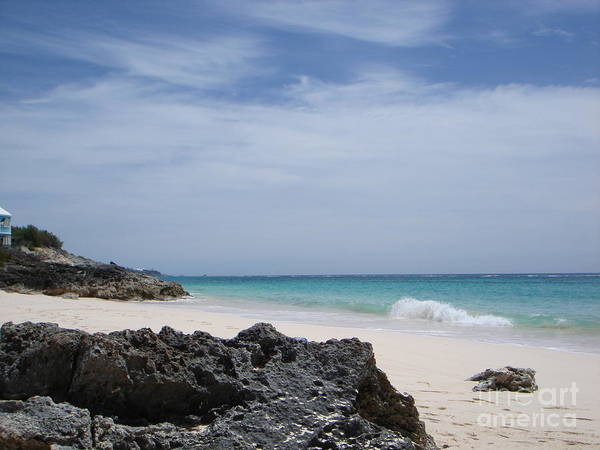 Bermuda Poster featuring the photograph Private Bermuda Beach by PJ Cloud