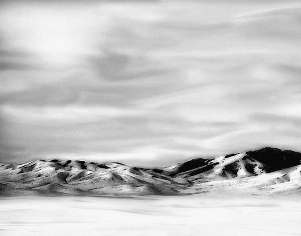 Landscape Poster featuring the photograph Promontory Mountains 2 by David Sidwell