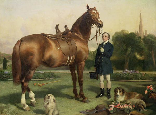 Prosperity Poster featuring the painting Prosperity by Sir Edwin Landseer