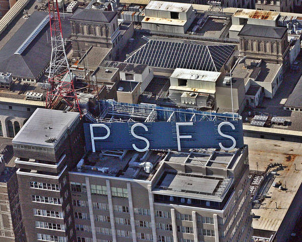 Psfs Poster featuring the photograph Psfs Building by Duncan Pearson