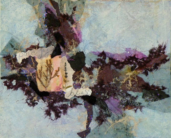Mixed Media Poster featuring the painting Pure Joy by Tara Milliken