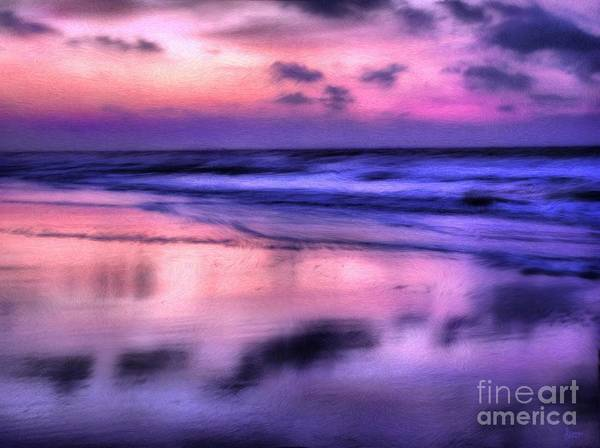 Sunrise Poster featuring the photograph Purple Haze by Jeff Breiman