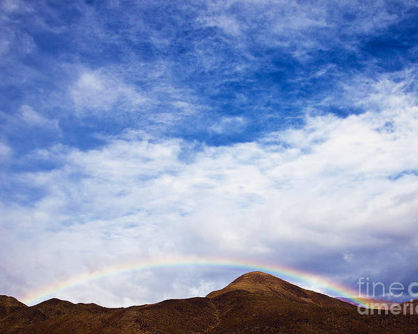 California Poster featuring the photograph Rainbow Canyon by Greg Clure
