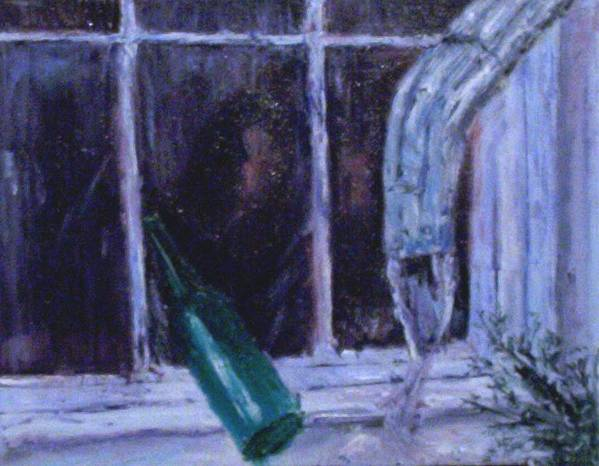Original Poster featuring the painting Rainy Day by Stephen King