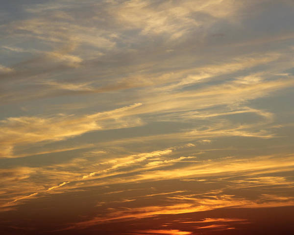 Colorful Clouds Poster featuring the photograph Reach For The Sky 7 by Mike McGlothlen