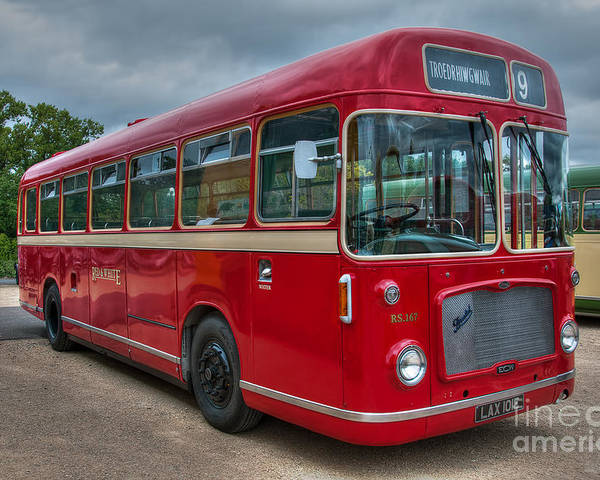 Lax 101e Poster featuring the photograph Red And White Rs 167 - Bristol Resl6l #2 by Steve H Clark Photography