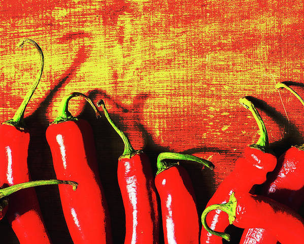 Red Hot Chili Peppers Poster By Irina Safonova