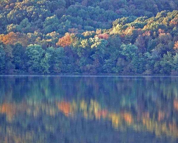 Nashville Poster featuring the photograph Rednor Lake Reflections - 1 by Randy Muir