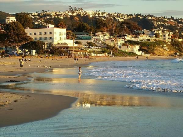 Laguna Beach Poster featuring the photograph Reflections Of Laguna by John Loyd Rushing