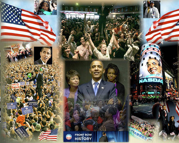Barack Poster featuring the digital art Respectfully Yours..... Mr. President by Terry Wallace