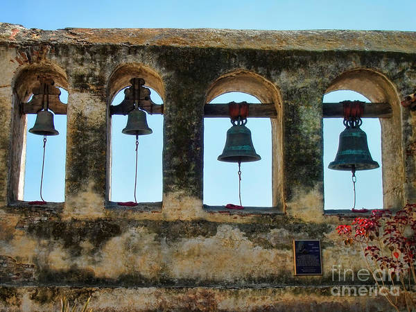 Ringing Bells Poster featuring the photograph Ringing Bells by Mariola Bitner