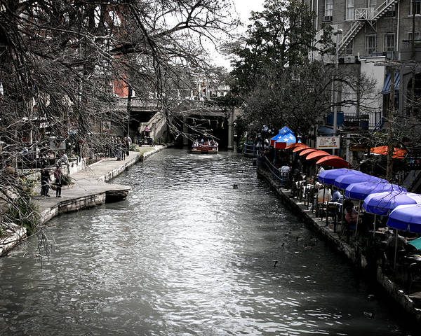 San Antonio Poster featuring the photograph Riverwalk by Shane Rees