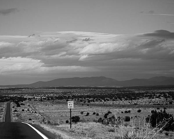 Landscape Poster featuring the photograph Roadtrip 14 by Meagan Paxton