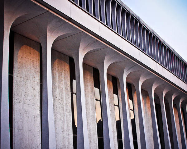 (c) 2010 Poster featuring the photograph Robertson Hall At Princeton University by Ryan Kelly