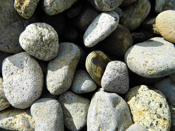 Rock Poster featuring the digital art Rocks by Palzattila