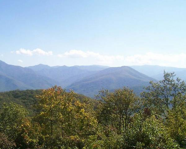 Mountains Poster featuring the photograph Rocky Top Tennessee 1 by Paula Ferguson