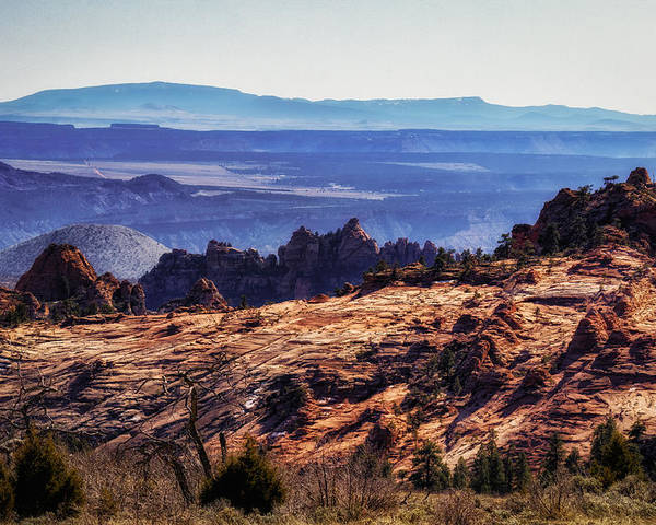 National Park Poster featuring the photograph Rocky View by Mitch Johanson