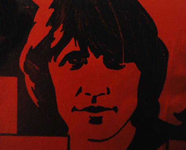 Abstract Poster featuring the photograph Roger Waters by Rob Hans