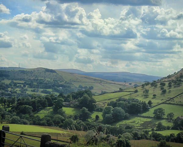 Countryside Poster featuring the photograph Rolling Hills by Martin Newman