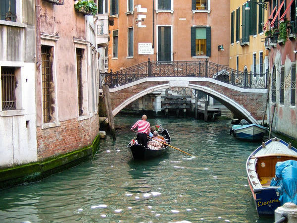 Venice Poster featuring the photograph Romantic Journey by Carl Jackson