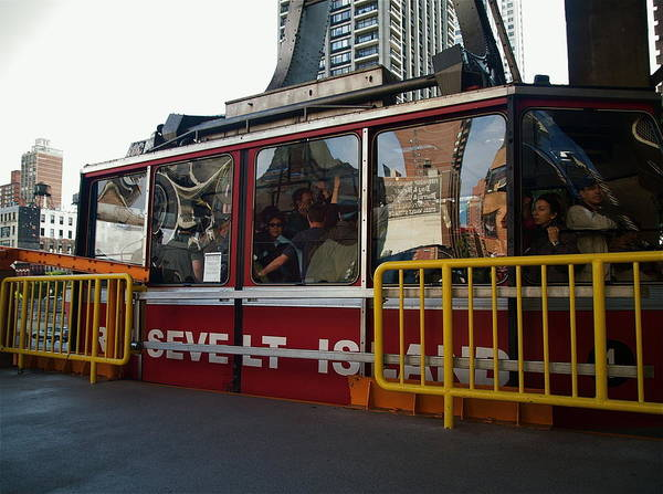 Poster featuring the photograph Roosevelt Island Tram by Kareem Farooq
