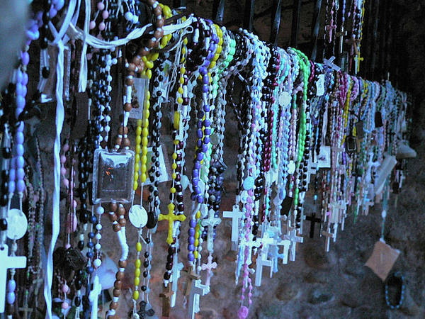 Rosary Poster featuring the photograph Rosary by Angela Wright