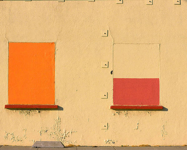 Oakland Poster featuring the photograph Rothko Wall Oakland by Art Ferrier